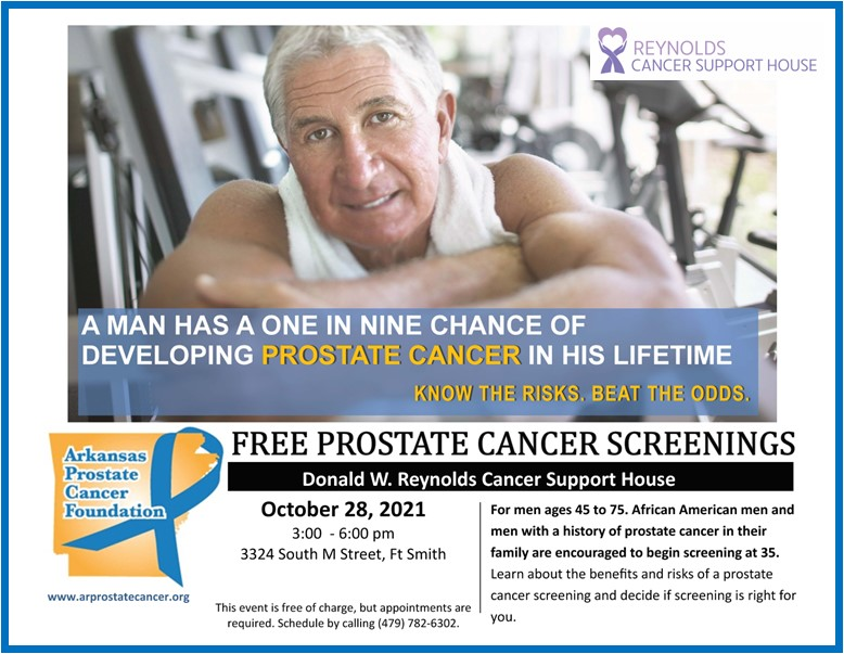 FREE Prostate Cancer Screenings